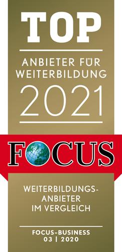 Logo Top Anbieter für Weiterbildung