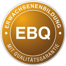 Logo Erwachsenenbildung mit Qualitätsgarantie